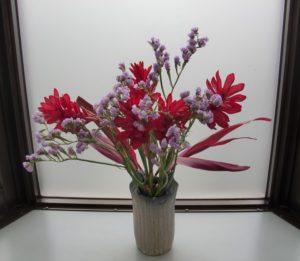 2週間前の花